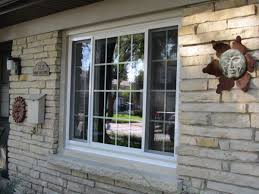 Front Windows Decorating Fancy Front Windows Decorating With Milwaukee Front 3 Lite Slider