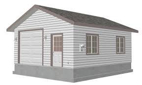 woodwork 16 x 24 garage plans with loft plans pdf download free