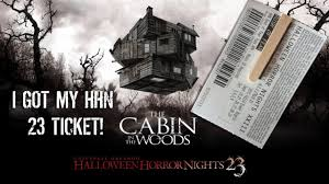 halloween horror nights promo code 2016 i got my halloween horror nights hhn 23 2013 ticket youtube