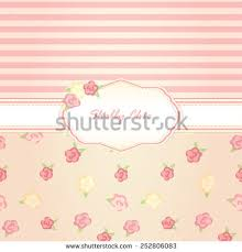 shabby chic background card stock vector 252806083 shutterstock