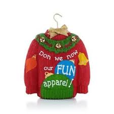 Ugly Christmas Decorations - ugly christmas sweater ornaments unique christmas decorations