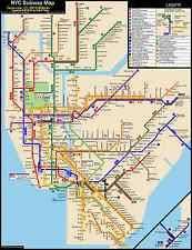 mta map subway nyc subway map subways ebay