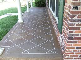 Outdoor Concrete Patio Designs Simple Concrete Patio Designs Stained Concrete Front Porch