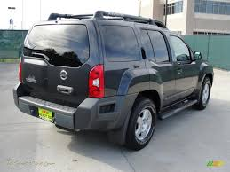 dark gray nissan 2008 nissan xterra s in night armor dark gray photo 3 512320
