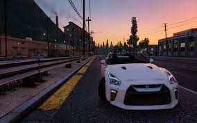 Nissan Gtr 2017 - nissan gtr 2017 real physics gta5 mods com