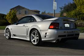 mustangs for sale on ebay 1999 saleen mustang s351 up for auction on ebay autoevolution