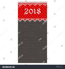 christmas pattern knit fabric christmas card template 2018 new year stock photo photo vector