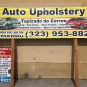 Car Upholstery Los Angeles Armando U0027s Auto Upholstery Auto Upholstery 1074 N Ardmore Ave