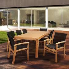 Black Wooden Dining Table And Chairs Outdoor Dining Sets Shop The Best Patio Furniture Deals For Dec