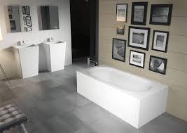 free standing bathtub solid surface madrid riho