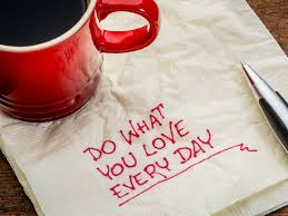 doing what you love is key to your success spin