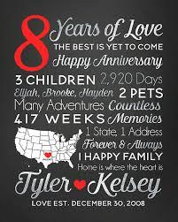 8 year wedding anniversary gift 8 year anniversary gift any year of dating or wedding anniversary