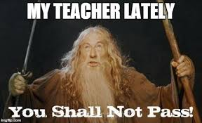 You Shall Not Pass Meme - gandalf you shall not pass memes imgflip