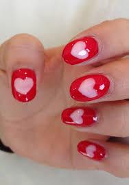 tutorial valentine u0027s day nail art from mars the salon nail it