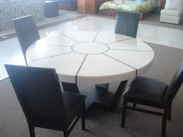 collection in marble round dining table with on the hunt for a