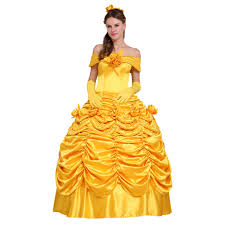 Belle Halloween Costume Women Cheap Belle Princess Costume Adults Aliexpress