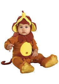 Banana Halloween Costume Infant Banana Peel Monkey Costume