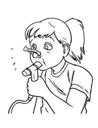 coloring pages amazing allergist