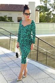 the green leopard dress ktrcollection