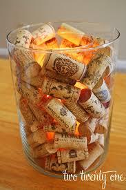 wine cork candle holder two twenty one