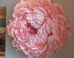 crepe paper flowers paper flower etsy