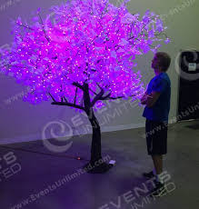 led tree lighted trees rental led trees