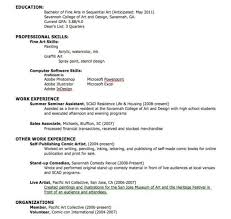How To Make A Resume For Summer Job by Excellent Ideas How To Make A College Resume 9 How To Make A