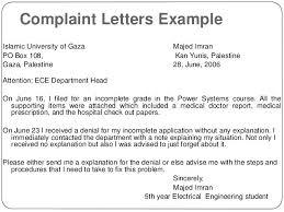 Complaints Letter To Hospital complaint letter format to electricity department erpjewels