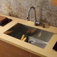 Under Mount Kitchen Sink by Vigo All In One 32 U201d Mercer Stainless Steel Undermount Kitchen Sink