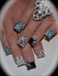 nail designs with rhinestones images image collections nail art