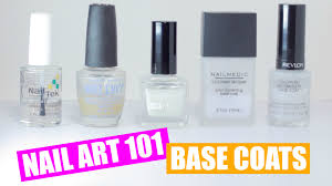 base coats nail art 101 youtube