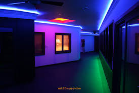 Led Strips Light by Hallway Accent Lighting