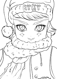 christmas coloring contest ryky deviantart