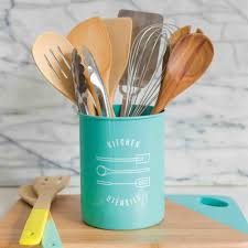kitchen utensil canister kitchen utensil crock utensil canister wall utensil holder