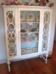 Display Cabinet Vintage Glass Curio Display Cabinet Foter