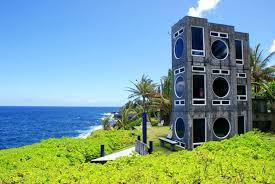Hawaiian House Kehena Point Cliff House Walk To Black Homeaway Kehena
