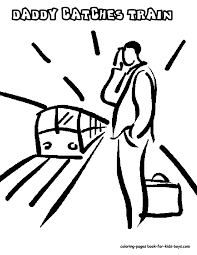 train hat coloring page steel wheels train coloring sheet yescoloring free trains