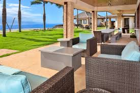 Covered Lanai by Maui Hawaii Luxury Rentals Homes And Villas Luxurious Destinations