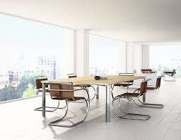 lsm conference table series with l leg knoll