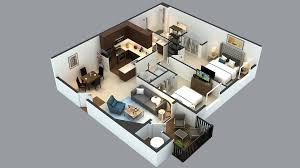 3 D Floor Plans by 3d Floor Plans Cartoblue