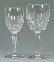 Waterford Vase Patterns Lot 626 16 Waterford Crystal Glasses Kildare Pattern