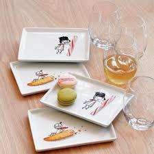 horderve plates oliver peppermint stick appetizer plate