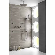 bristan recessed thermostatic dual control shower valve with