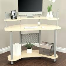 Compact Computer Desk Computer Desk Compact Corner Computer Desk Cherry Beech Effect