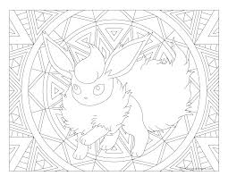 136 flareon pokemon coloring page windingpathsart com