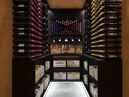 basement custom wine cellar installation design london