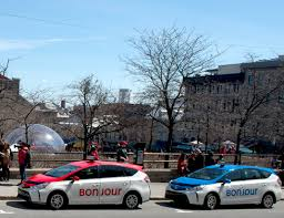 bureau des taxis des taxis bicolores pour montréal autosphere