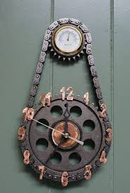 10 Unusually Cool Things You Can Buy On Etsy Babble by Clocks Made From Repurposed Materials By Kysarcreations On Etsy