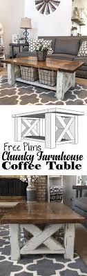 white farmhouse coffee table chunky farmhouse coffee table diy coffee table woodworking plans