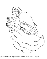 christmas coloring pages retro angels graphics fairy free